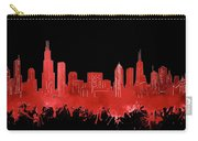 Chicago Skyline Watercolor 5 Carry-all Pouch