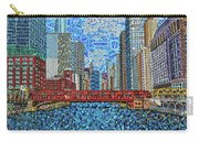Chicago Wells Street Bridge 2 Carry-all Pouch