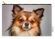 Chihuahua Dog Portrait Carry-all Pouch