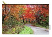 Chikanishing Road In Fall Carry-all Pouch