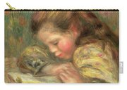 Child Reading, 1890  Carry-all Pouch