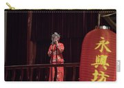 Chinese Opera Singer Onstage Carry-all Pouch