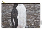 Chinstrap Penguin Portrait By Alan M Hunt Carry-all Pouch by Alan M Hunt