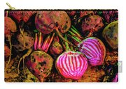 Chioggia Beets Carry-all Pouch