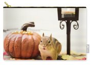 Chipmunk In The Autumn Carry-all Pouch
