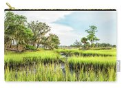 Chisolm Island - Marsh At Low Tide Carry-all Pouch