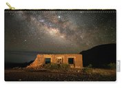 Chisos Mountain Homestead Under The Milky Way Carry-all Pouch