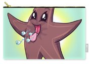 Chocolate Starfish Carry-all Pouch