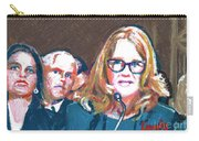 Christine Blasey Ford Testifies Before Senate Carry-all Pouch