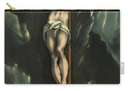 Christ On The Cross, 1610 Carry-all Pouch