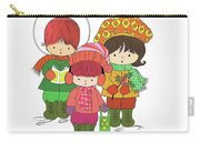 Christmas Angels Carry-all Pouch