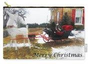 Christmas Sleigh Carry-all Pouch