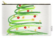 Christmas Tree With Decoration Carry-all Pouch