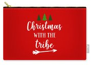 Christmas With The Tribe Carry-all Pouch