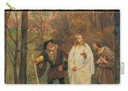 Christus Und Die J Nger Von Emmaus 1914 Carry-all Pouch