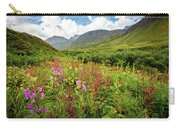 Chugach Midsummer Carry-all Pouch by Tim Newton