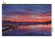 Chula Vista J Street Marina Sunset Carry-all Pouch by Sam Antonio Photography