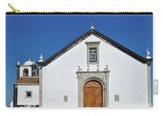 Church Of Cacela Velha In Portugal Carry-all Pouch