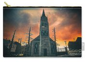 Church Of Days Past Carry-all Pouch