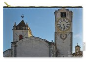 Church Of Saint Mary In Tavira. Portugal Carry-all Pouch