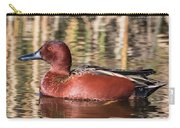 Cinnamon Teal On The Pond Carry-all Pouch