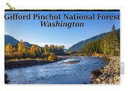Cispus River In The Gifford Pinchot National Forest, Washington State Carry-all Pouch