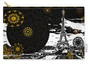 City Of Lights - Kaleidoscope Moon For Children Gone Too Soon Number 6  Carry-all Pouch