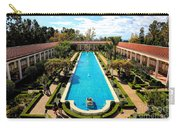 Classic Awesome J Paul Getty Architectural View Villa  Carry-all Pouch
