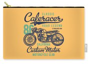 Classic Caferacer Road Legend Carry-all Pouch