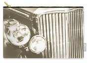 Classic Car Chrome Carry-all Pouch