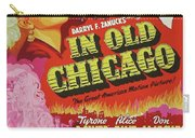 Classic Movie Poster - In Old Chicago Carry-all Pouch