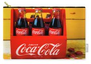 Classic Six Pack Of Cokes Carry-all Pouch