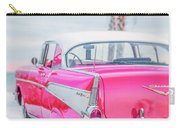 Classic Vintage Pink Chevy Bel Air  8x10 Scene Carry-all Pouch