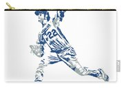Clayton Kershaw Los Angeles Dodgers Pixel Art 30 Carry-all Pouch