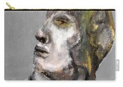 Clear Grey Sky Portrait Carry-all Pouch