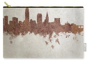Cleveland Ohio Rust Skyline Carry-all Pouch