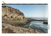 Cliff In The Ocean Carry-all Pouch