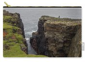 Cliff Vigil At Esha Ness On Shetland Mainland Carry-all Pouch