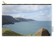 cliffs and coast at St. Abbs Head, Berwickshire Carry-all Pouch