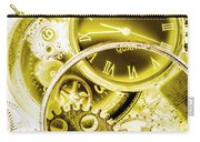 Clock Watches Carry-all Pouch