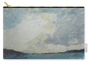 Cloud Above The Sea Carry-all Pouch