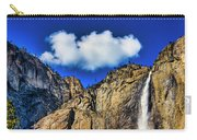 Clouds Abover Upper Yosemite Fall Carry-all Pouch