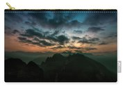 Clouds Over Mountains Carry-all Pouch