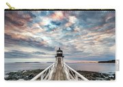 Cloudy Skies At Marshall Point Carry-all Pouch