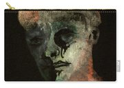 Clown On Black Carry-all Pouch