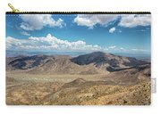 Coachella Valley Vista Point Carry-all Pouch by Alison Frank