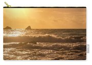 Coastal Sunrise Silhouette Carry-all Pouch