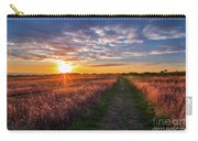 Coastline Footpath To Sunset Carry-all Pouch