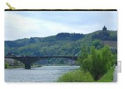 Cochem Castle And River Mosel In Germany Carry-all Pouch