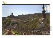 Cochem Castle And Town On Mosel In Germany Carry-all Pouch